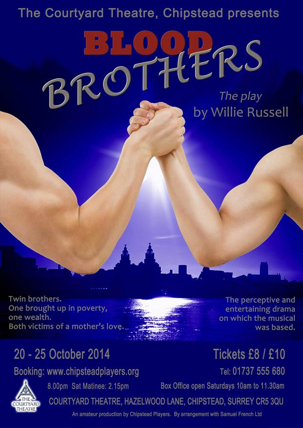 drama essays blood brothers Blood brothers essaysi am writing this essay on how well willy russell explores the effect of the class system in blood brothers the play is set in liverpool in the 1980.