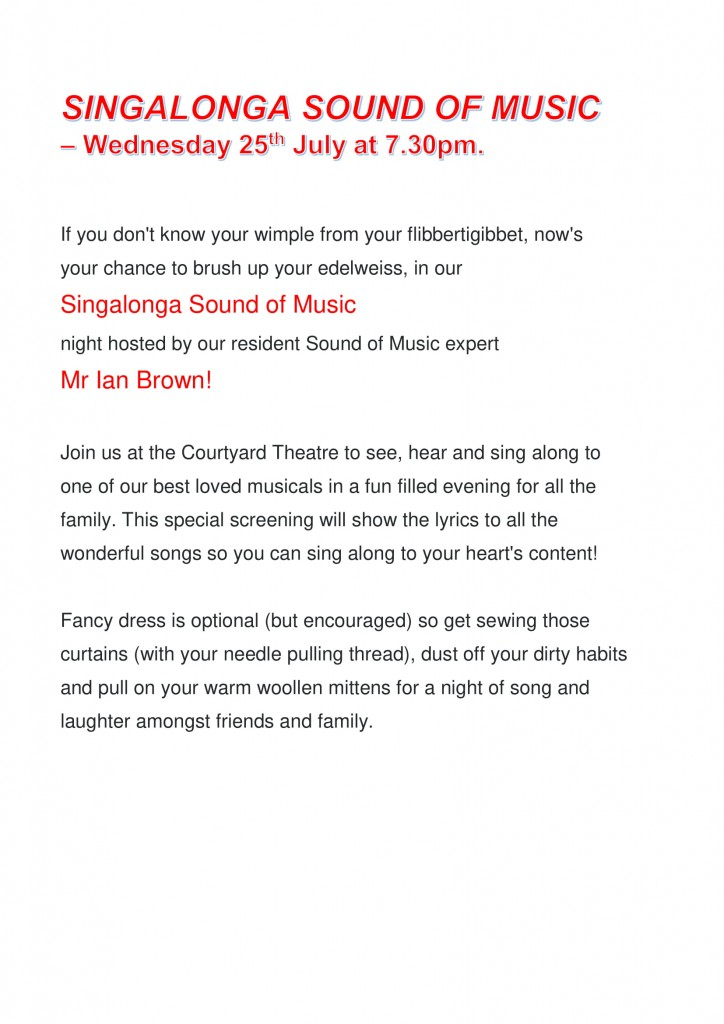 SINGALONGA SOUND OF MUSIC blurb-1